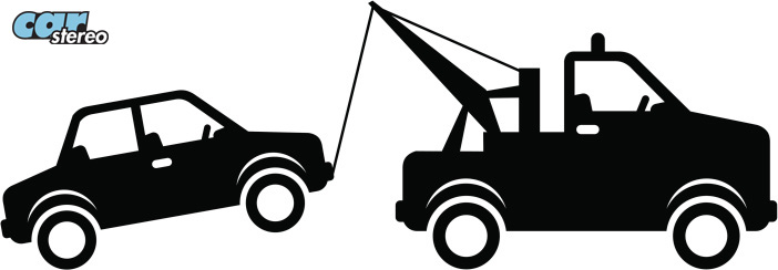 Tow Truck Silhouette