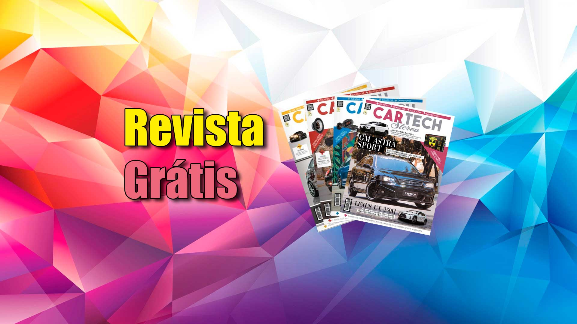 Revista car stereo tech grautira na quarentena